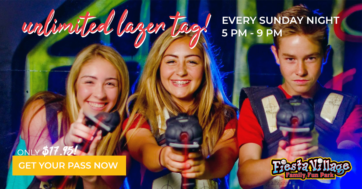 Lasertag in Colton | Fiesta Village