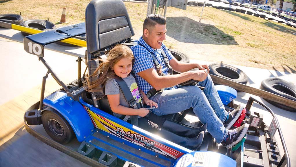 Go Kart at Fiesta Village
